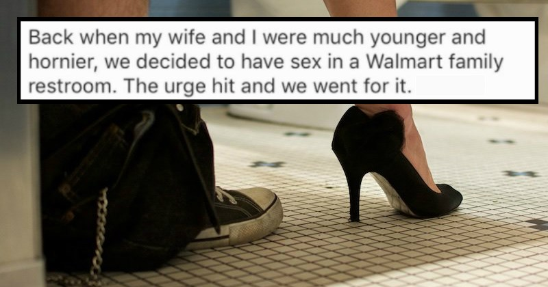 Guy Recounts the Hilarious Story of the Time He Got Caught Having Sex In A Bathroom With His Wife