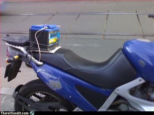 battery driving Kludge motorcycle - 3213745664