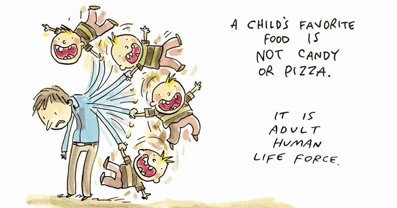 Mix of funny and wrong web comics and wholesome web comics from cartoonist Jim Benton.