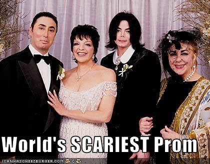 David Gest elizabeth taylor Liza Minnelli michael jackson prom scary - 3215993600