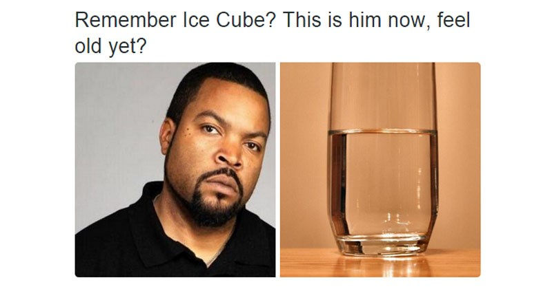 "Collection of funny memes from the internet and from Twitter in the ""Feel Old Yet?"" format."