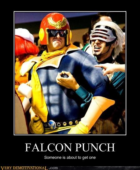 cosplay,demotivational,falcon punch,f-zero,hilarious,otaku,Pure Awesome