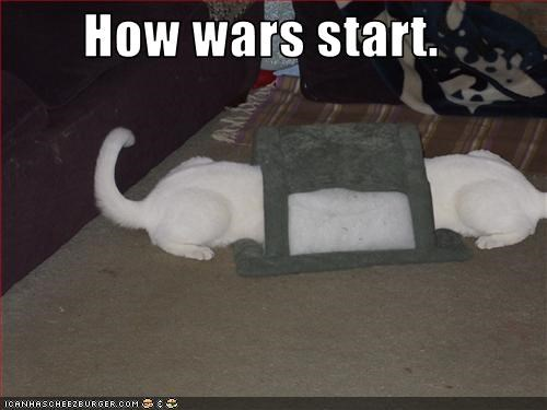 scratching posts,war