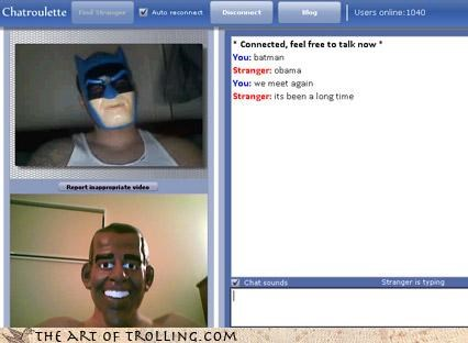 batman bruce wayne Chat Roulette obama - 3223306240