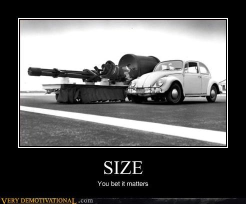 guns wtf car size