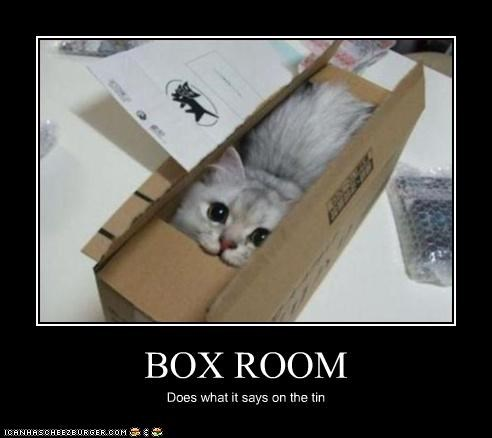 BOX ROOM Does what it says on the tin
