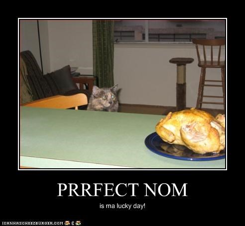 PRRFECT NOM is ma lucky day!