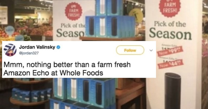 A collection of our favorite reactions on Twitter to the news that Amazon now owns Whole Foods.