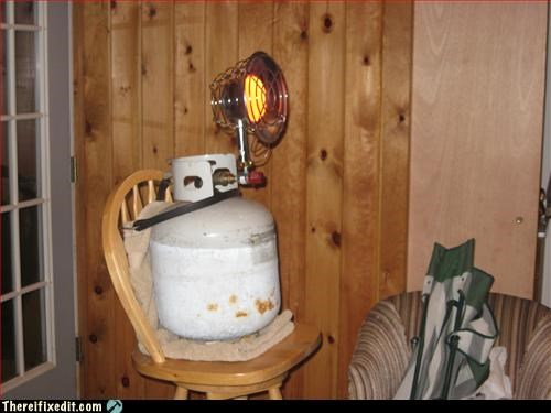 fire hazard,heater,propane
