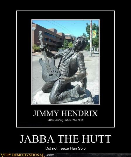 carbonite,jabba the hutt,jimi hendrix