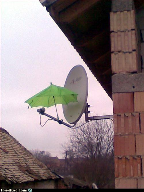 rain satellite umbrella - 3225305856