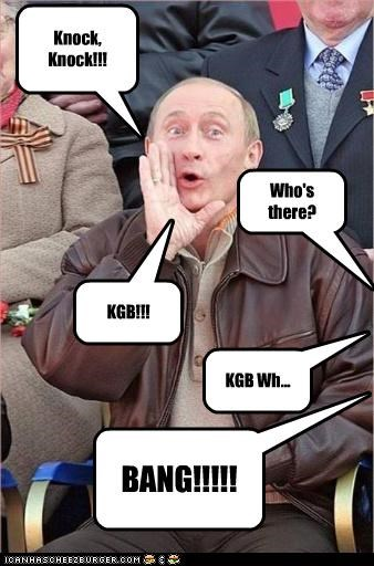 jokes KGB Vladimir Putin vladurday - 3225875200