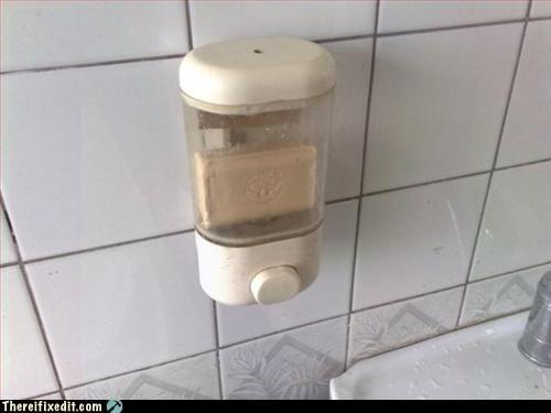 lazy maintenance public bathroom soap dispenser - 3226038272