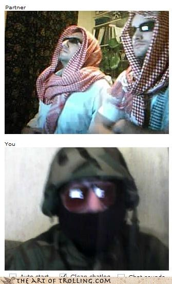Chat Roulette,enemies,masks