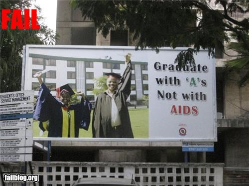 aids as billboard failboat - 3227040256