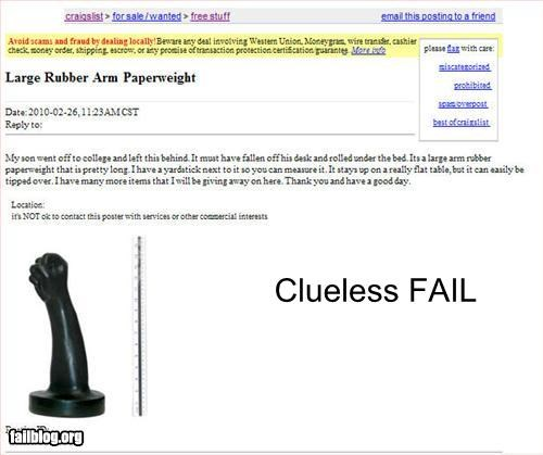 anal clueless craigslist fisting sex toys NSFW - 3230267648