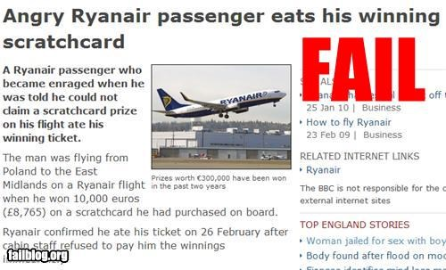 airplane eat g rated lottery wtf - 3230478848