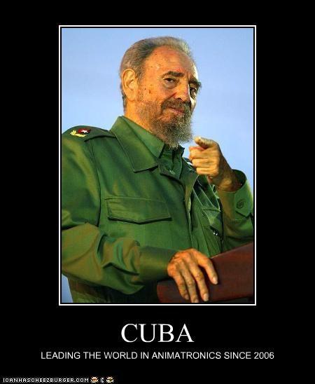 CUBA LEADING THE WORLD IN ANIMATRONICS SINCE 2006