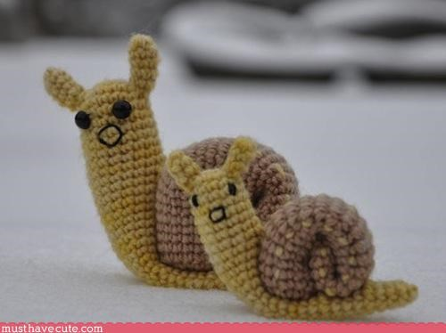 animal cute Knitted snail Teeny - 3235123712