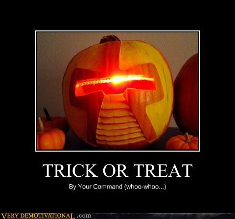 halloween trick or treat Battlestar Galactica cylons