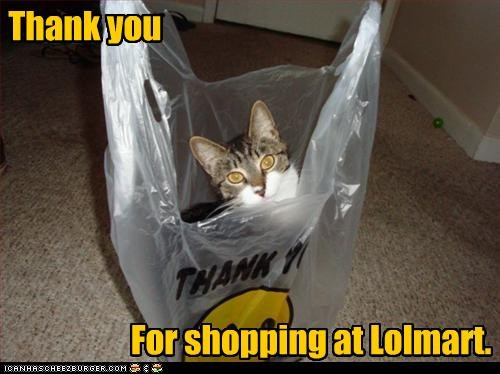 bag,kthxbai,lolmart,shopping