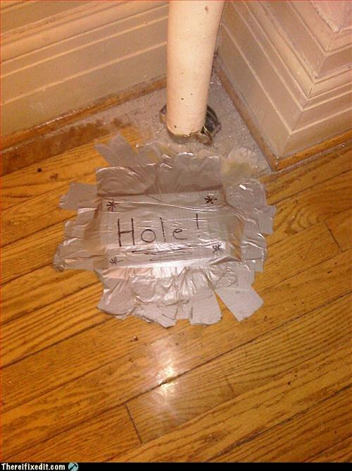 duct tape sharpie warning wood floor