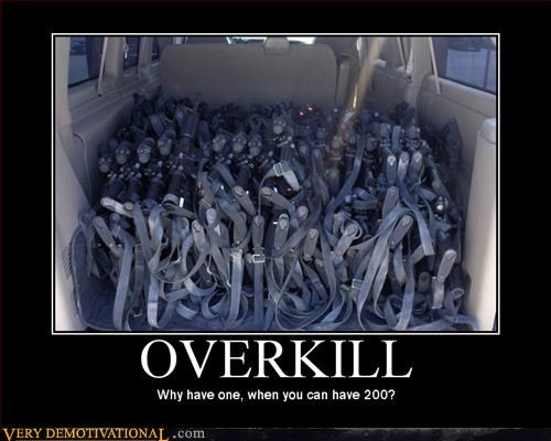 demotivational guns machine guns overkill Pure Awesome Terrifying - 3240018944