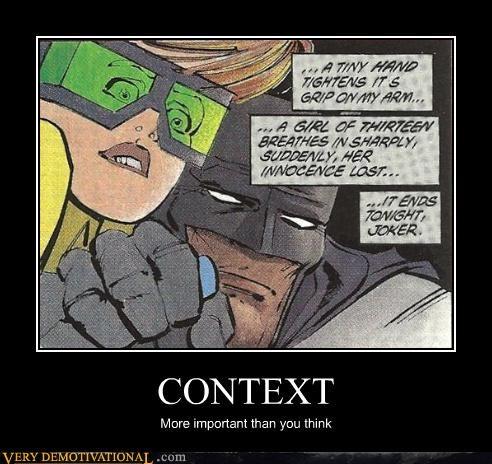 batman context demotivational joker robin Terrifying - 3240690944