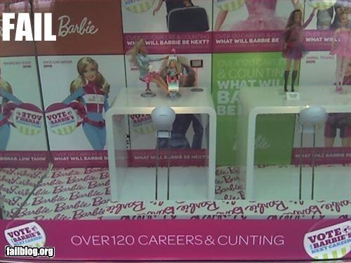 Barbie misspelling signs - 3242107904