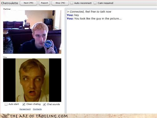 Chat Roulette,funny faces,looks a lot alike