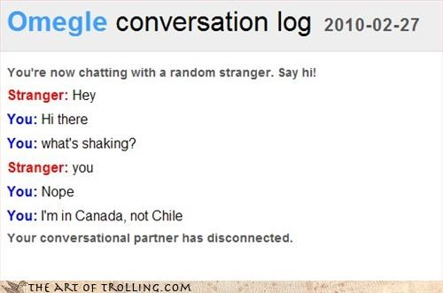 Canada,Chile,Natural Disasters,Omegle
