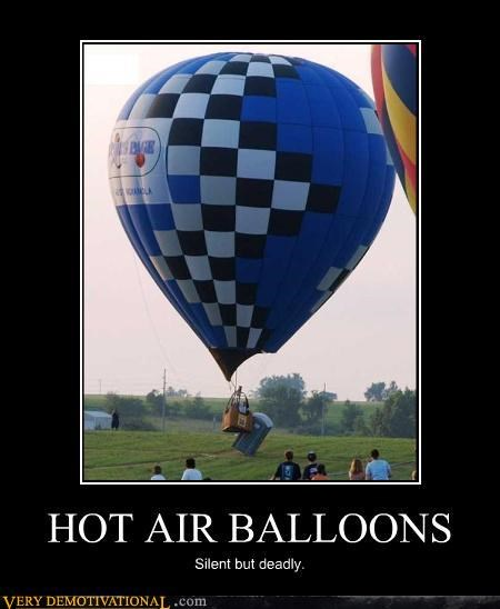 Hot Air Balloon,port a potty,idiots