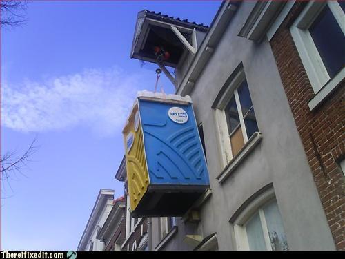 bathroom crane gross life port a potty - 3245703424