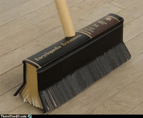 book broom recycling-is-good-right Sad why would you do that - 3246102272