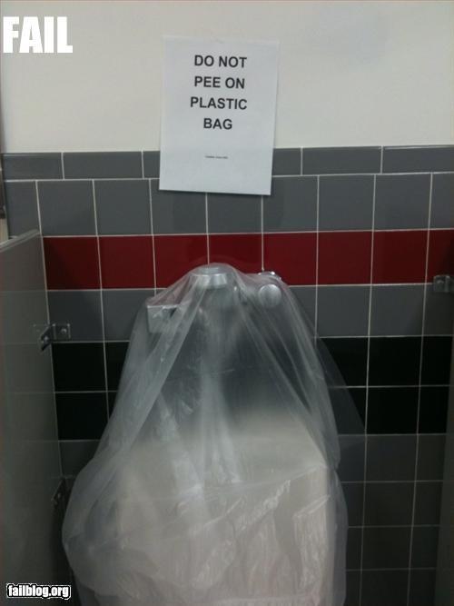 bag bathroom do not g rated pee plastic urinal - 3246854400