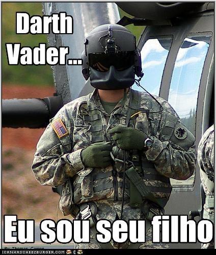 Darth Vader... Eu sou seu filho
