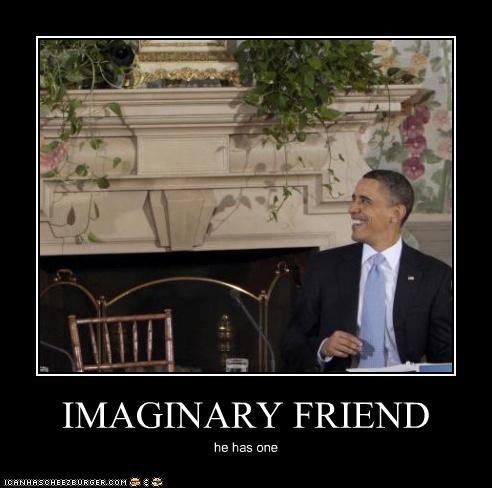 IMAGINARY FRIEND he has one