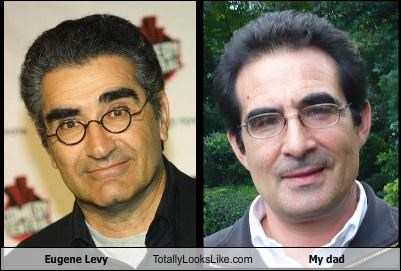 actor dad Eugene Levy glasses