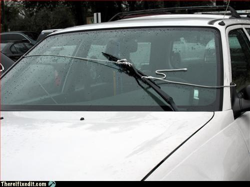 car make it work rope windshield wipers
