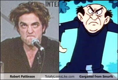 actor animation cartoons gargamel Hall of Fame robert pattinson the smurfs - 3249251840