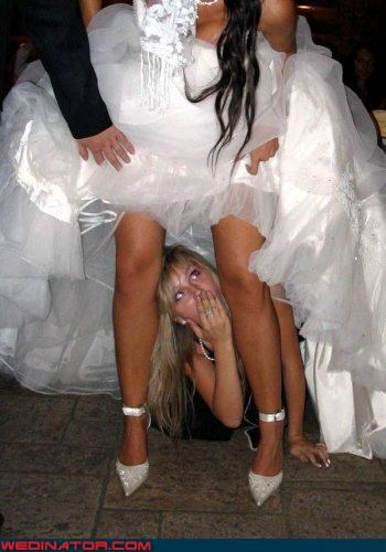 bff bikini wax time Crazy Brides down under eww fashion is my passion foursquare judging surprise upskirt Wedding Dress Flashing wtf