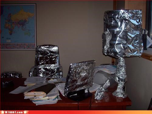 boredom boring creativity in the workplace cubicle boredom cubicle fail cubicle prank dickhead co-workers dickheads go away i hate you knock it off mess outlawed prank pwned Sad screw you stupid unoriginal wrapping - 3250435328