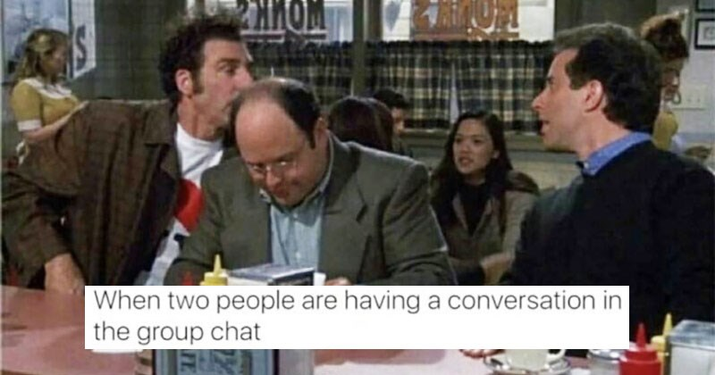 Collection of funny and randome memes about seinfeld, cats, dating, relationships, iphones, phones, texting, food, harry potter, sonic, sonic the hedgehog, gordon ramsay.