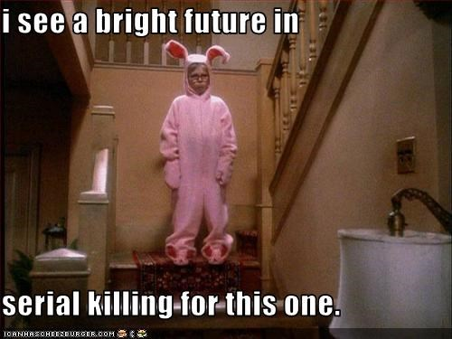 A Christmas Story,costume,killer,peter billingsley,serial killer