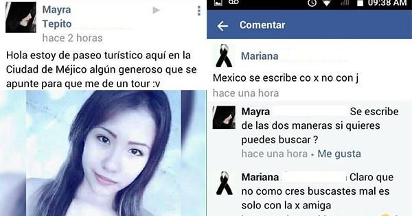 error ortografico mexico