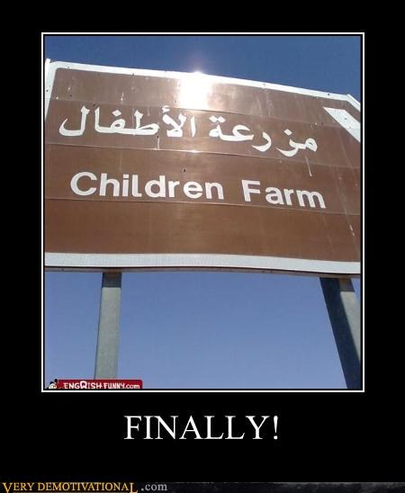 wtf awesome farm children