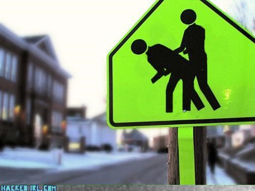 sexy times traffic sign - 3253809664