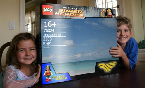 dads lego wonder woman