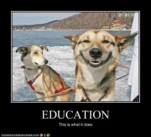 EDUCATION This is what it does