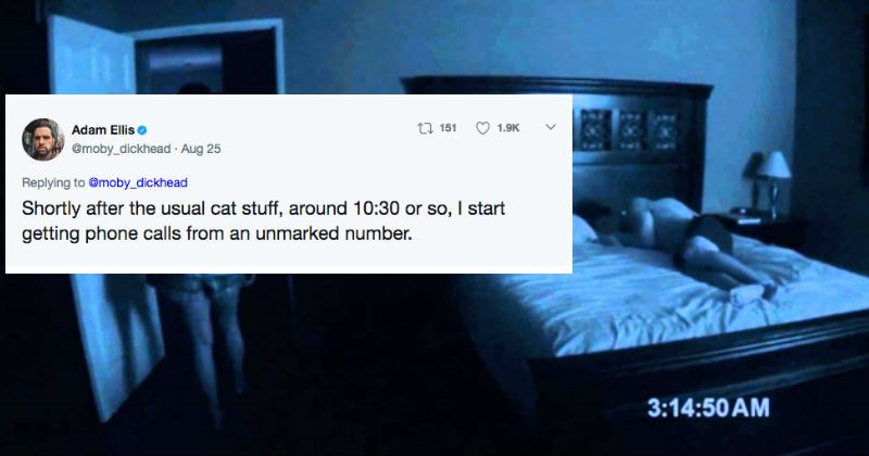 Guy's story about his haunted apartment on Twitter will send chills down your spine.